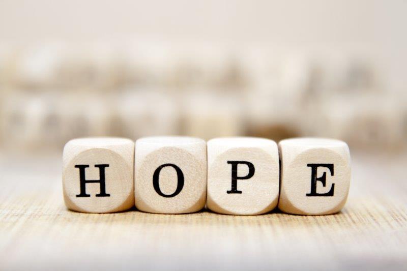 hoop is belangrijk bij herstel